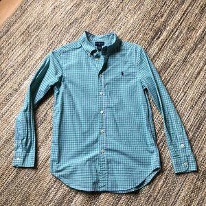 Ralph Lauren Boys Gingham Check Shirt
